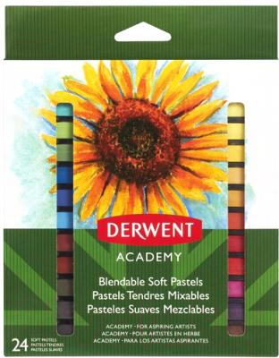 Набор сухой пастели Derwent Academy Soft Pastels / 98216