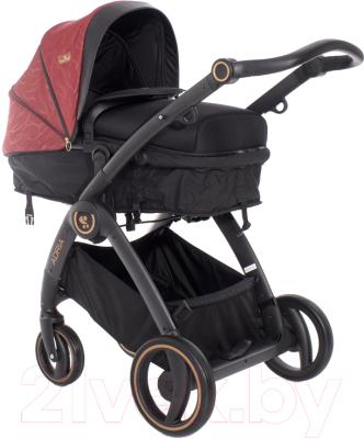 Детская универсальная коляска Lorelli Adria Black Red / 10021452006