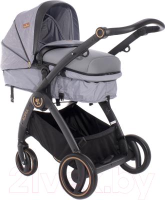 Детская универсальная коляска Lorelli Adria Grey / 10021452007