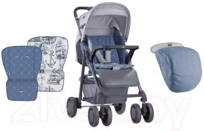 Детская прогулочная коляска Lorelli Aero Grey Maps / 10020711849