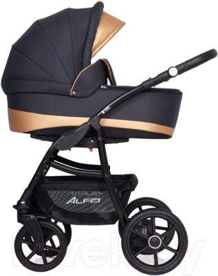 Детская универсальная коляска Riko Alfa Ecco 3 в 1