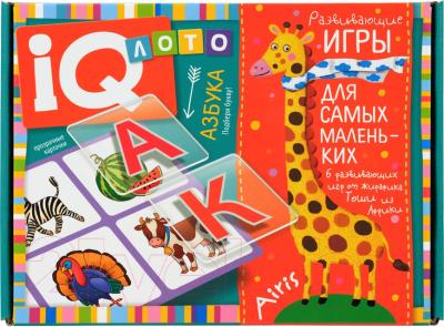Развивающий игровой набор Айрис-пресс Азбука. Подбери букву / AP-2738