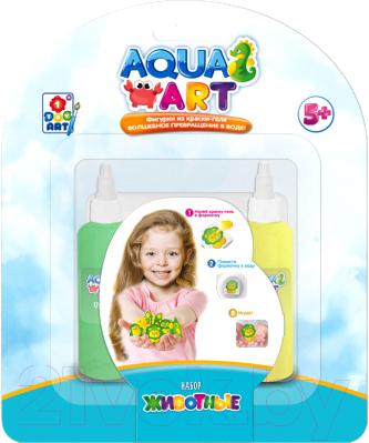Набор для творчества 1Toy Aqua Art Животные / Т20074