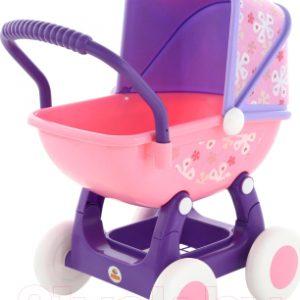 Коляска для куклы Полесье Arina №2 4 колеса / 48219
