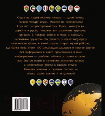 Атлас АСТ Мир в таблицах и схемах