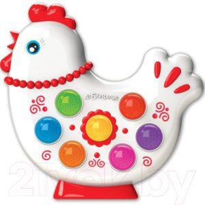 Развивающая игрушка Азбукварик Веселушки. Курочка Ряба / AZ-2223
