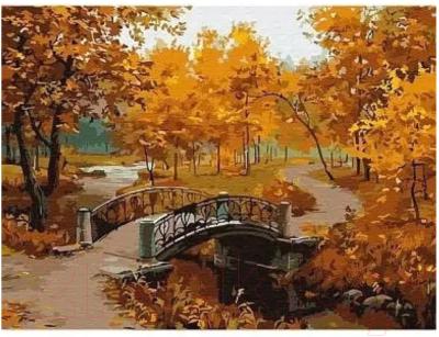 Картина по номерам Azart Осенний парк / AZ3040GK-33