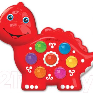 Развивающая игрушка Азбукварик Веселушки. Динозаврик / AZ-2221