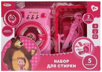 Набор хозяйственный игрушечный Играем вместе Маша и Медведь / B1120032-R