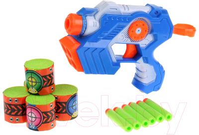 Бластер игрушечный Играем вместе С мягкими мишенями / B1326525-R