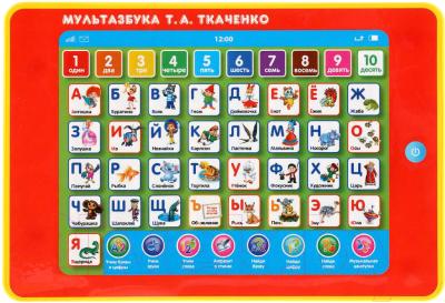 Развивающая игра Умка Сенсорный планшет. МультАзбука Т. А. Ткаченко / B1631067-R1-N
