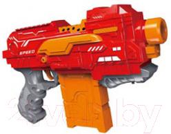 Бластер игрушечный Симбат С мягкими пулями и с мишенью / B1713275