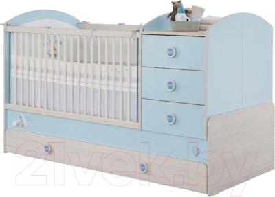 Детская кровать-трансформер Cilek Baby Boy / 20.43.1015.00