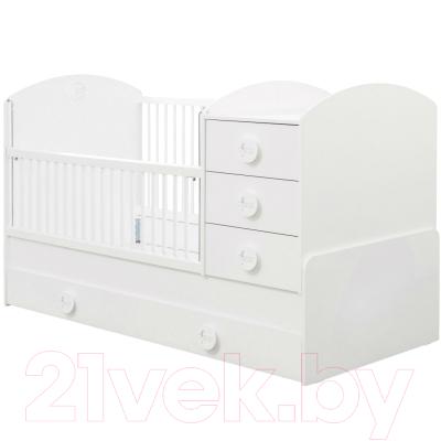 Детская кровать-трансформер Cilek Baby Cotton / 20.24.1015.00