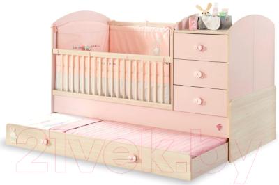 Детская кровать-трансформер Cilek Baby Girl / 20.42.1015.00
