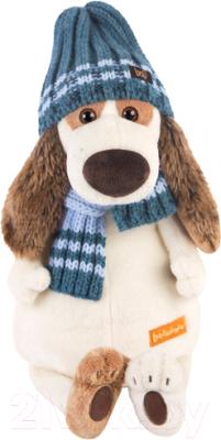 Мягкая игрушка Budi Basa Бартоломей в голубой шапке и шарфе / Bart27-008