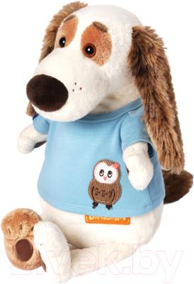 Мягкая игрушка Budi Basa Бартоломей в футболке с совой / Bart27-010