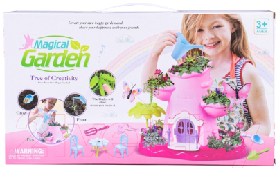 Набор для выращивания растений Qunxing Toys Волшебный сад / BK1805