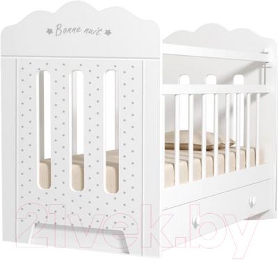 Детская кроватка VDK Bonne маятник и ящик
