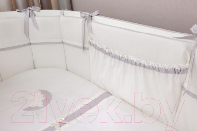 Комплект постельный в кроватку Perina Bonne Nuit Oval / БНО7