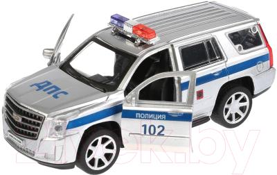 Автомобиль игрушечный Технопарк Cadillac Escalade. Полиция / ESCALADE-P