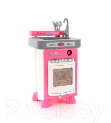 Посудомоечная машина игрушечная Полесье Carmen №1 с посудомоечной машиной / 47922