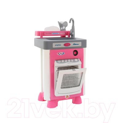 Посудомоечная машина игрушечная Полесье Carmen №1 с посудомоечной машиной / 57891