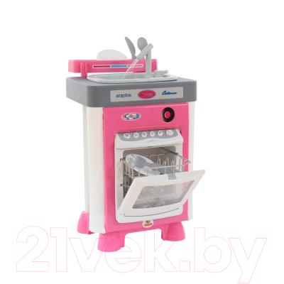 Комплект бытовой техники игрушечный Полесье Carmen №3 с посудомоечной машиной и мойкой / 57914
