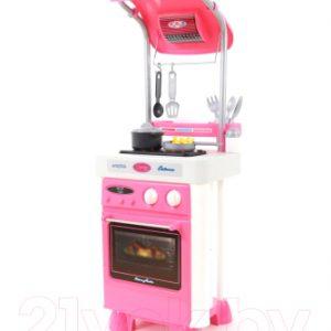 Кухонная плита игрушечная Полесье Carmen №4 с варочной панелью и духовым шкафом / 47953