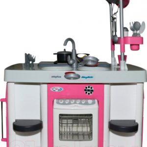 Детская кухня Полесье Carmen №7 с посудомоечной машиной и варочной панелью / 47991