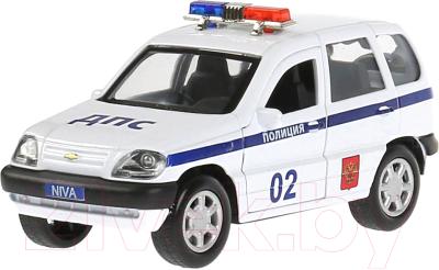 Автомобиль игрушечный Технопарк Chevrolet Niva. Полиция / CHEVYNIVA-12POL-WH