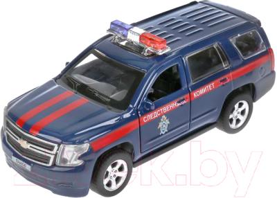 Автомобиль игрушечный Технопарк Chevrolet Tahoe Следственный комитет / TAHOE-12COM-BU