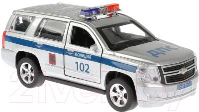 Автомобиль игрушечный Технопарк Chevrolet Tahoe Полиция / TAHOE-P