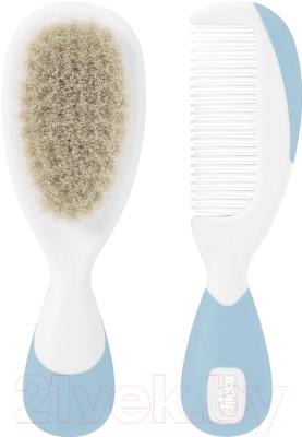 Набор для ухода за волосами детский Chicco С натуральными щетинками