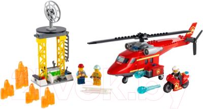 Конструктор Lego City Fire Спасательный пожарный вертолет / 60281