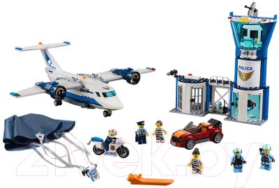 Конструктор Lego City Police Воздушная полиция: авиабаза 60210
