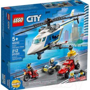 Конструктор Lego City Police Погоня на полицейском вертолёте 60243