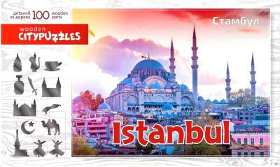 Пазл Нескучные игры Citypuzzles. Стамбул / 8236