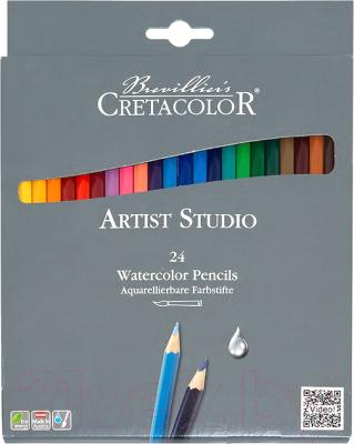 Набор акварельных карандашей Cretacolor Cleos Artist Studio Line