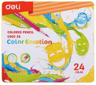 Набор цветных карандашей Deli Color Emotion / 00225
