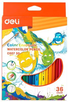 Набор акварельных карандашей Deli Color Emotion / 00730