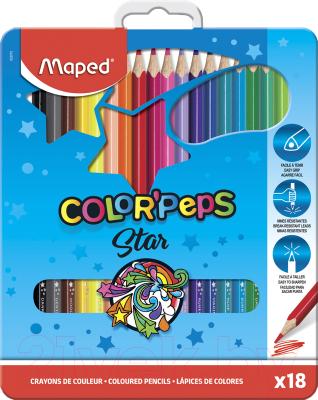 Набор цветных карандашей Maped Color Peps / 832015