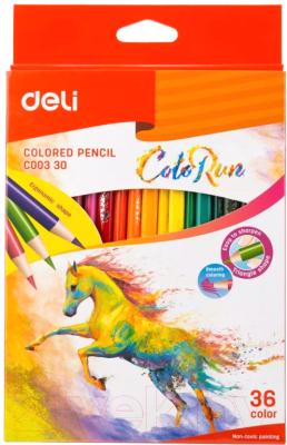 Набор цветных карандашей Deli Color Run / 00330