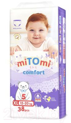 Подгузники-трусики детские MiTomi Comfort XL от 12 до 20 кг