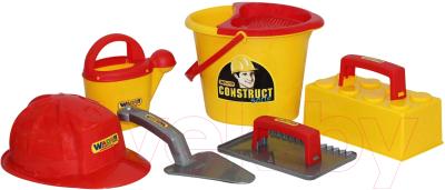 Набор инструментов игрушечный Полесье Набор каменщика Construct №5 / 50199