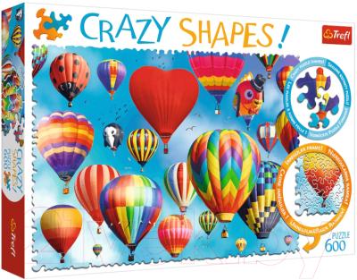 Пазл Trefl Crazy Shapes. Красочные воздушные шары / 11112
