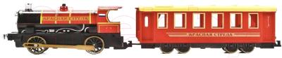 Элемент железной дороги Технопарк Поезд с вагоном. Красная стрела / CT10-038 (24)