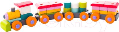 Развивающая игрушка Levenya Cubika Поезд LP-1 / 13319