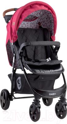 Детская прогулочная коляска Lorelli Daisy Red Black Lighthouse / 10021412055