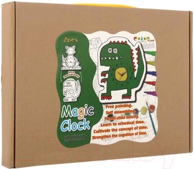 Набор для творчества Bradex Часы своими руками: Кенгуру и Динозавр / DE 0167
